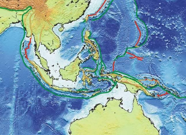 Kondisi Tektonik di Kepulauan Indonesia
